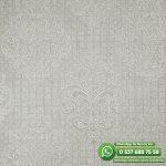 Yatak Odası Duvar Kağıdı Damask Gri