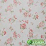 Yatak Odası Duvar Kağıdı Kırmızı Çiçek