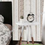 Yatak Odası Duvar Kağıdı Tahta Beyaz