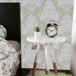 yatak odası duvar kağıdı yeşil beyaz