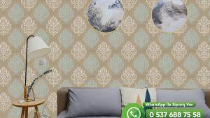 Salon Duvar Kağıdı Damask