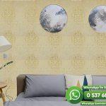 Salon Duvar Kağıdı Sarı