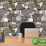 Genç Odası Duvar Kağıdı Doğal Taş