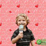 Çocuk Odası Duvar Kağıdı Kırmızı Kalp