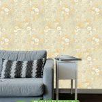 Sarı Gri Kirli Duvar Kağıdı