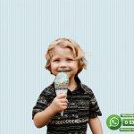Çocuk Odası Duvar Kağıdı Mavi Beyaz Çizgi