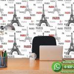 Genç Odası Duvar Kağıdı Paris Eyfel