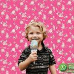 Çocuk Odası Duvar Kağıdı Pembe Gül