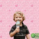 Çocuk Odası Duvar Kağıdı Pembe Kalp