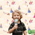 Çocuk Odası Duvar Kağıdı Prenses Kız Krem