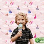 Çocuk Odası Duvar Kağıdı Prenses Pembe